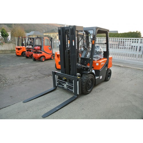 Doosan D30g Plus Diesel C Kabine Triplex 4710mm 4 Ventile...